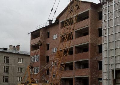 Строительство многоквартирного дома в с. Выльгорт