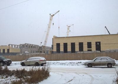 с. Визинга, строительство средней школы на ул.Мира