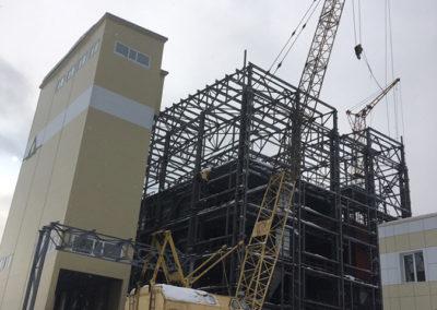 Строительство комбикормового завода на Зеленецкой Птицефабрике